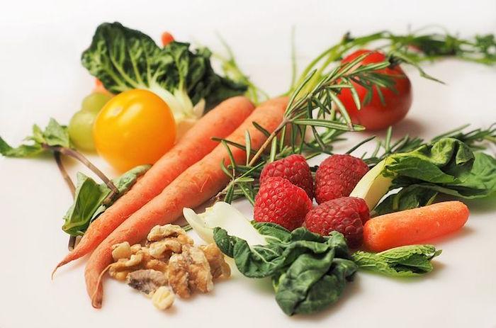 Les aliments d'un régime anti cellulite.