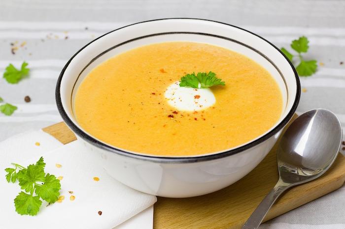 Recette soupe brûle graisse.